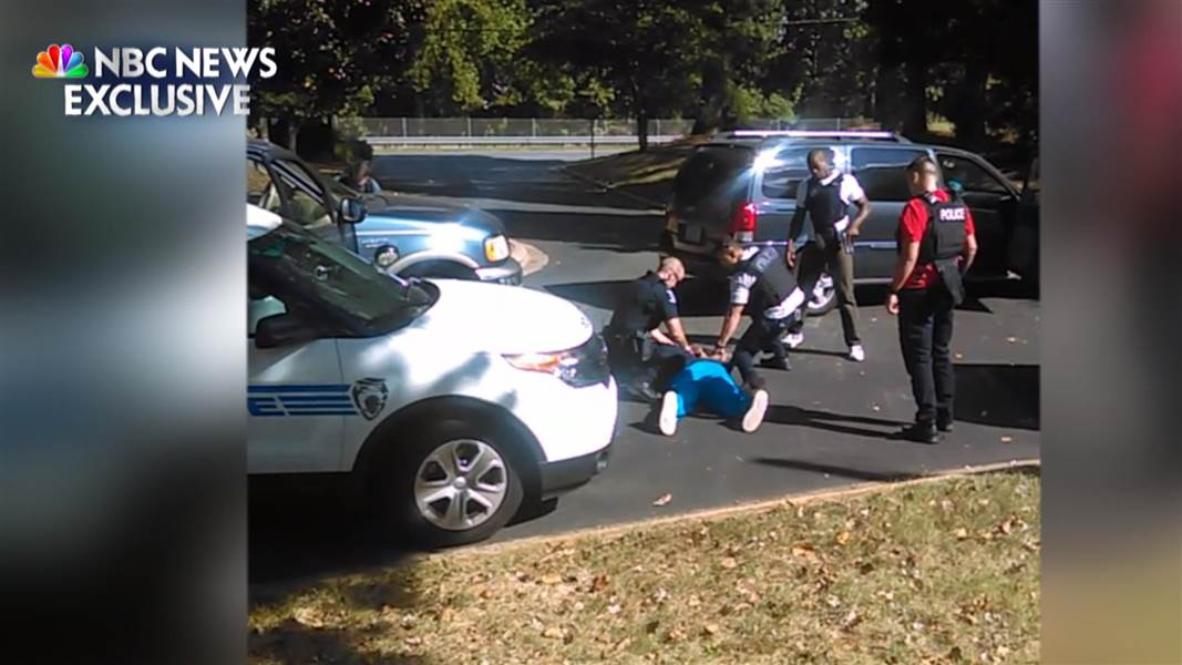Wife Of Keith Lamont Scott Releases Cell Phone Footage Of -8272