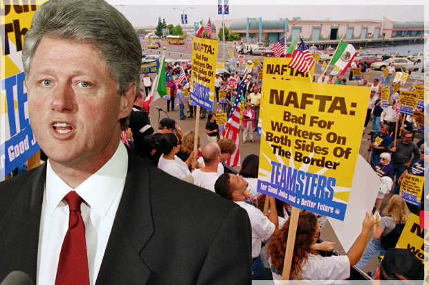 Own Up To Nafta Democrats Trump Is Right That The Terrible Trade