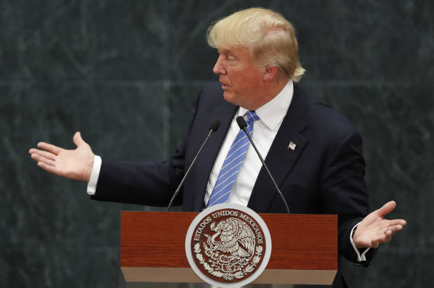 Trump vows no amnesty for illegal immigrants