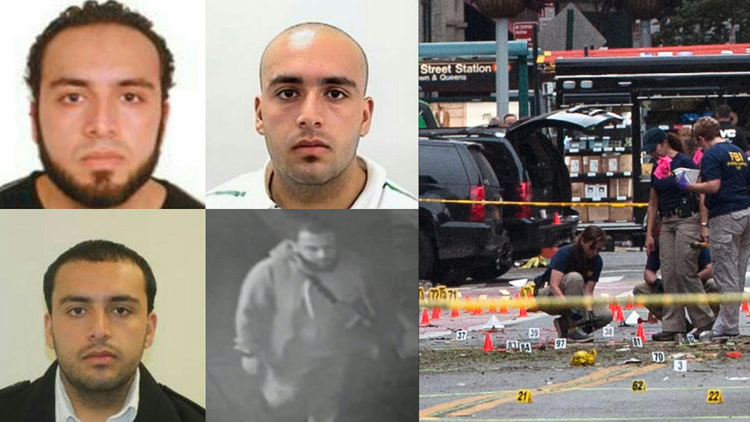 suspect in new york and new jersey bombings in custody after