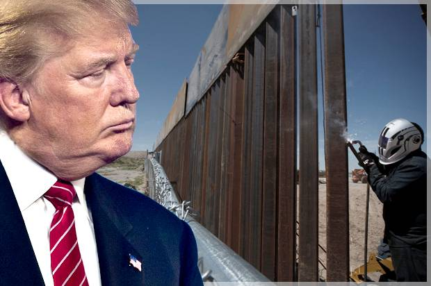 Would Trump's border wall even be legal? (Hint: No.) And ...