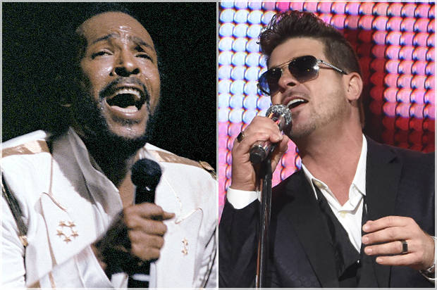 Marvin Gaye; Robin Thicke