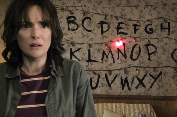 we re all living in the upside down stranger things is a show about the internet s dark. Black Bedroom Furniture Sets. Home Design Ideas