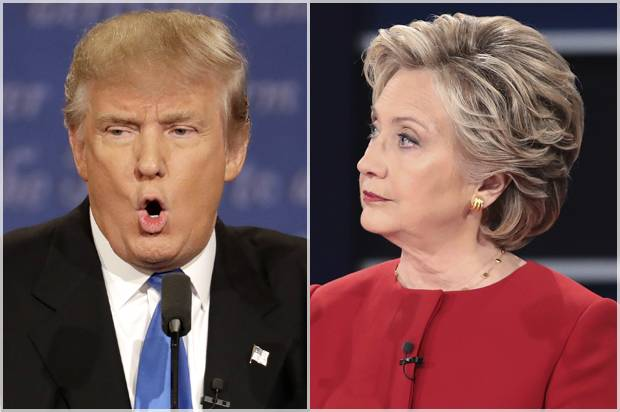 tweet hits trump hillary debate