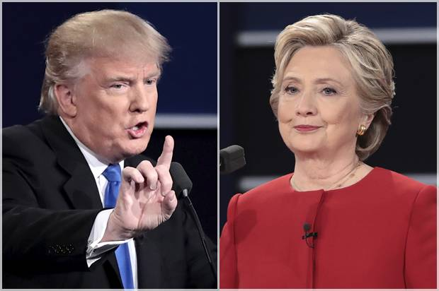 who is the winner trump or hillary