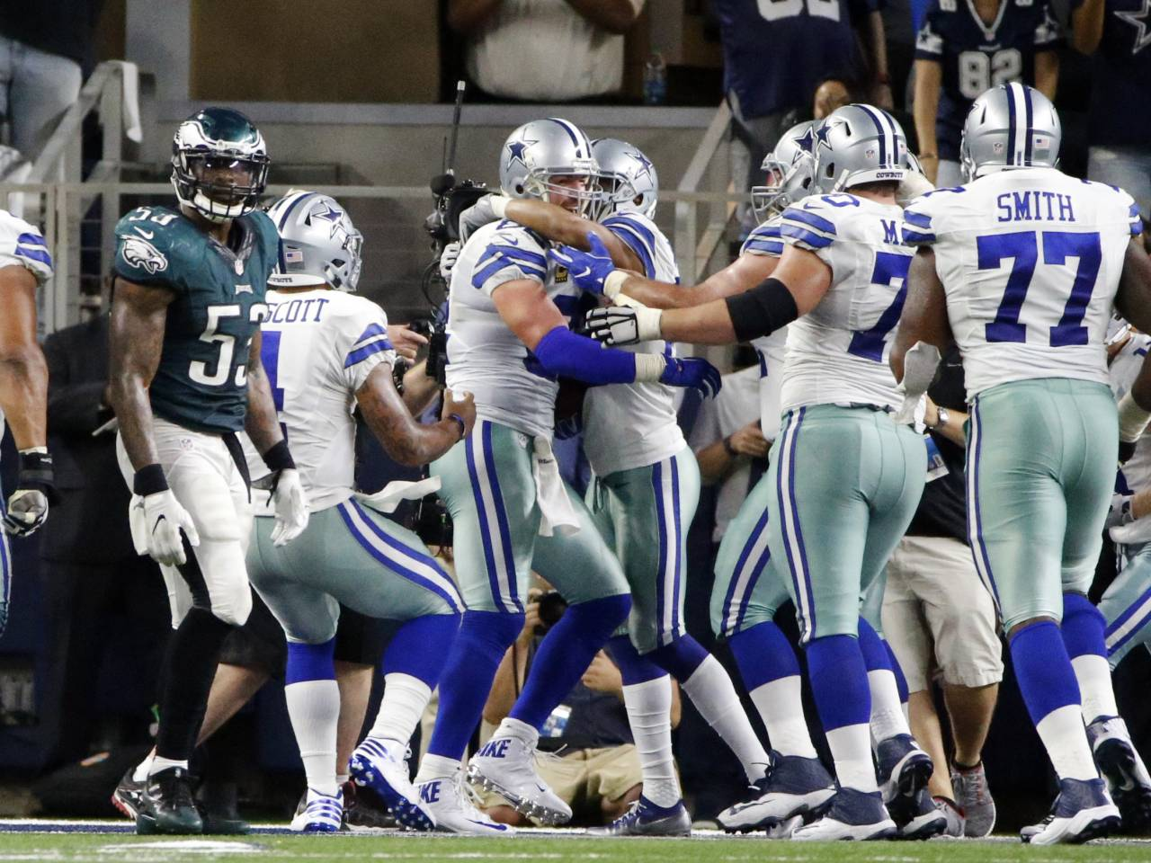 Dak Prescott rebounds in time to rally Cowboys past Eagles in OT