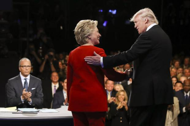 Clinton, Trump face-off in the second presidential debate Sunday