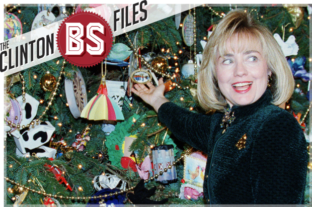 the clinton bs files hillary didnt decorate the white house christmas tree with condoms and syringes saloncom - Christmas Condoms