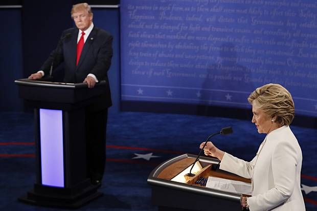 tells more lies hillary clinton donald trump truth meter nominees