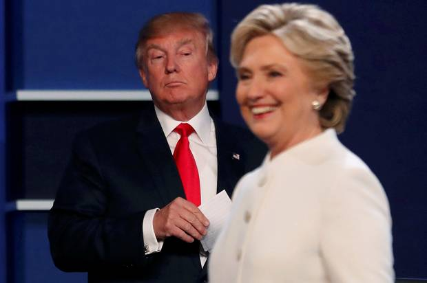Latest polls show Trump gaining ground on Clinton