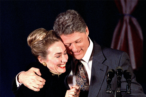the clintons christian marriage the staggering