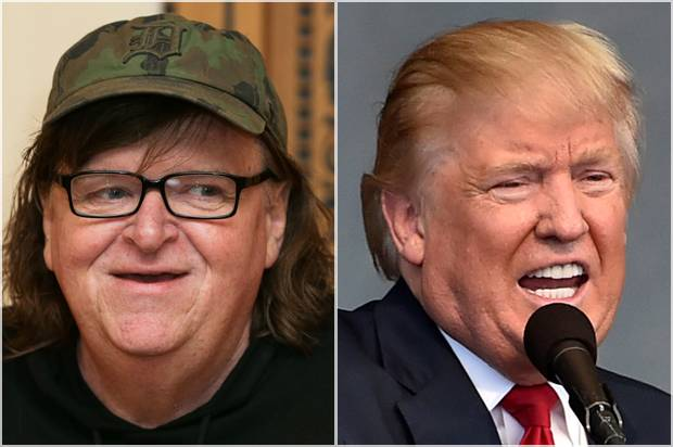 Michael Moore; Donald Trump