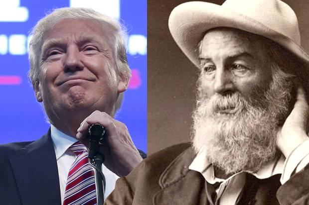 Donald Trump; Walt Whitman