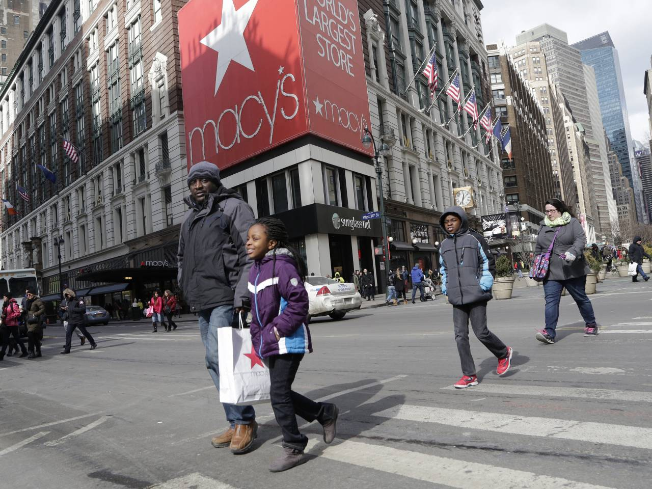 Macy's sees happy holidays and shares boom
