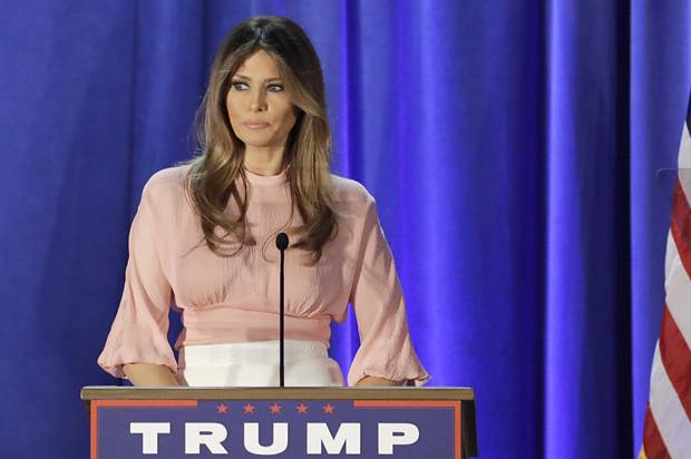 Melania, unmuted: Melania Trump gave a speech using her ...