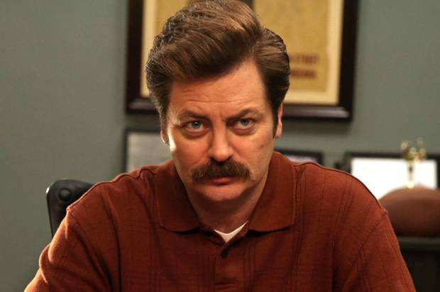 """Nick Offerman on his new show: """"There's no attempt to go with mainstream popular culture"""""""