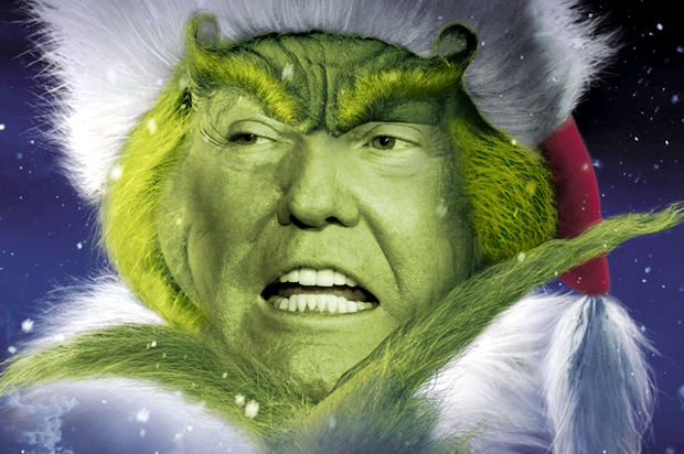 Image result for trump grinch