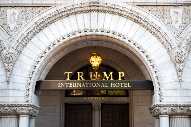 Donald trump 39 s new d c hotel ranks really badly for Trump hotel dc decor