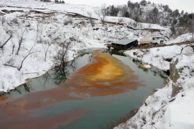 A state ravaged by oil: 745 oil spills reported in North Dakota in just one year