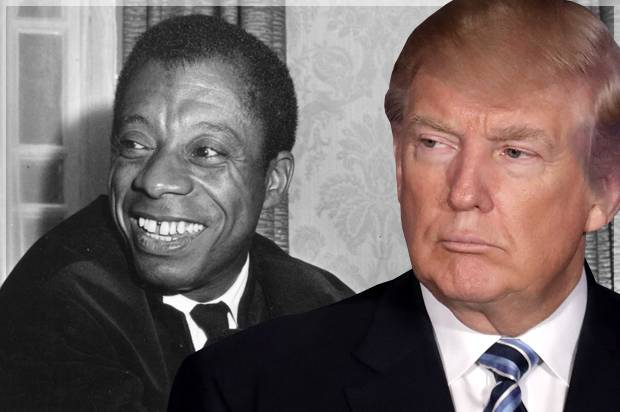 James Baldwin; Donald Trump