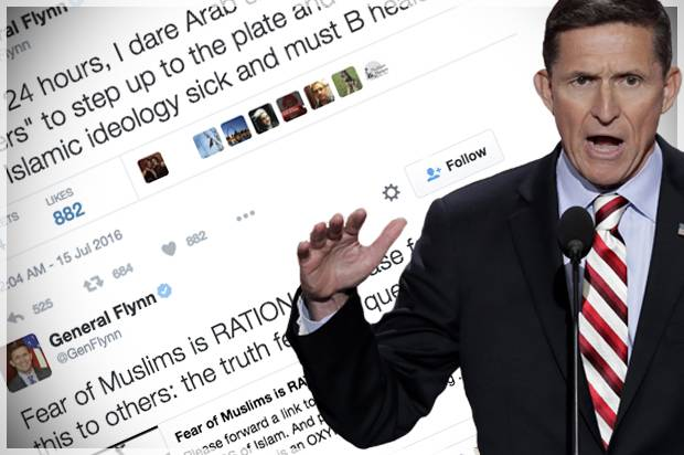 Trump's America . Flynn_twitter-620x412