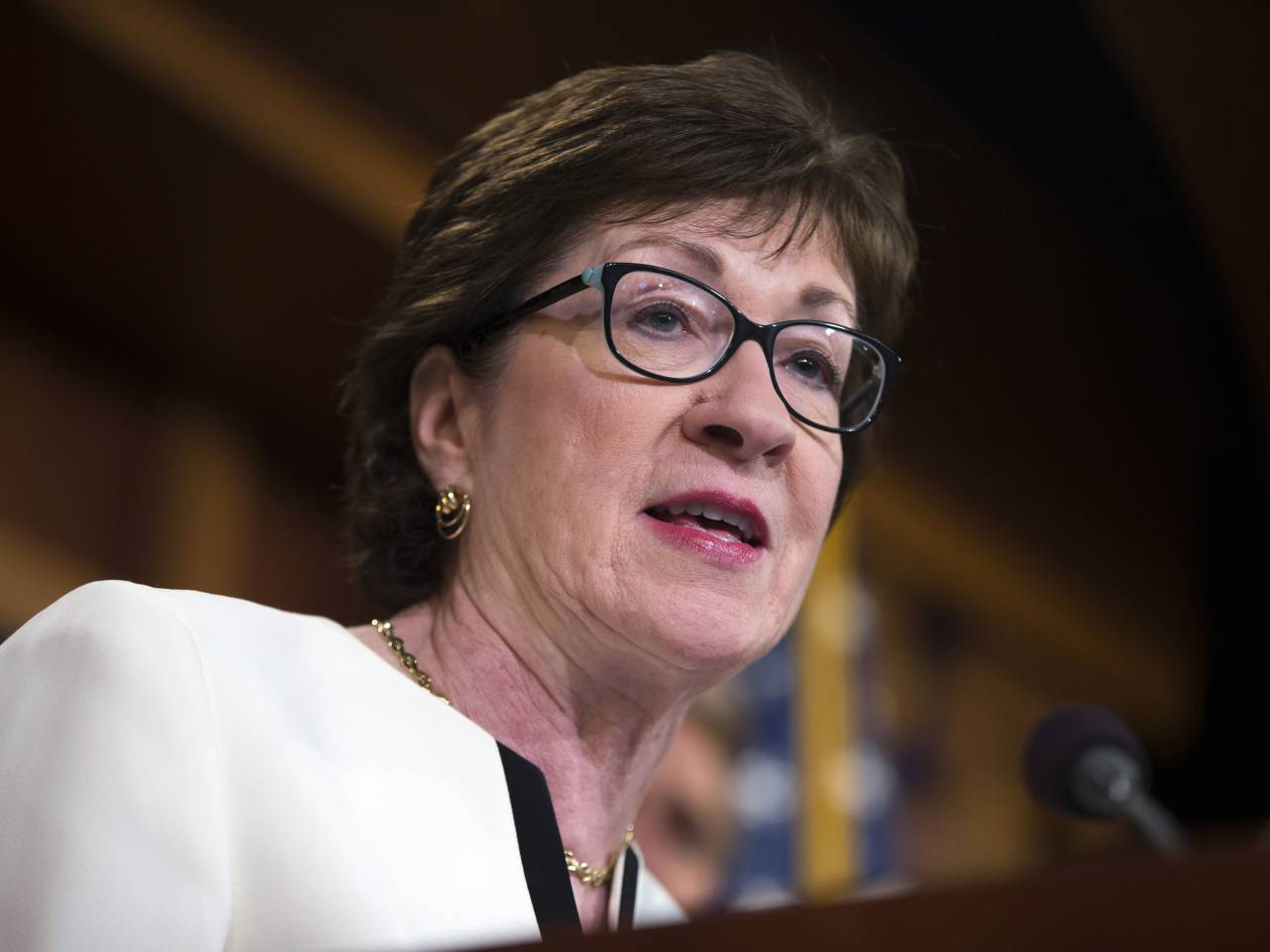 Collins recounts 'heartwarming' welcome in ME after healthcare 'no' vote