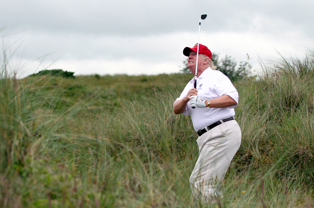 Donald Trump is now expanding his golf course in Scotland