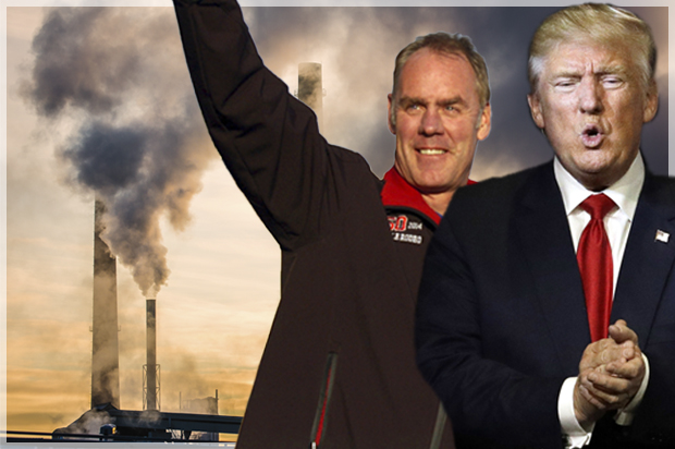 Image result for photos of trump and ryan zinke
