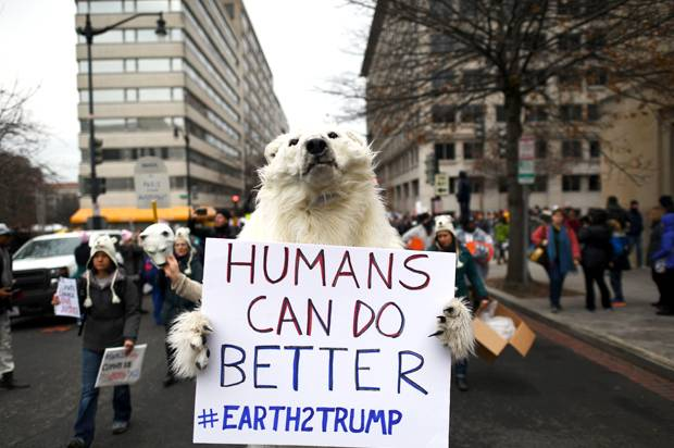 Climate change is real, despite Trump's claims