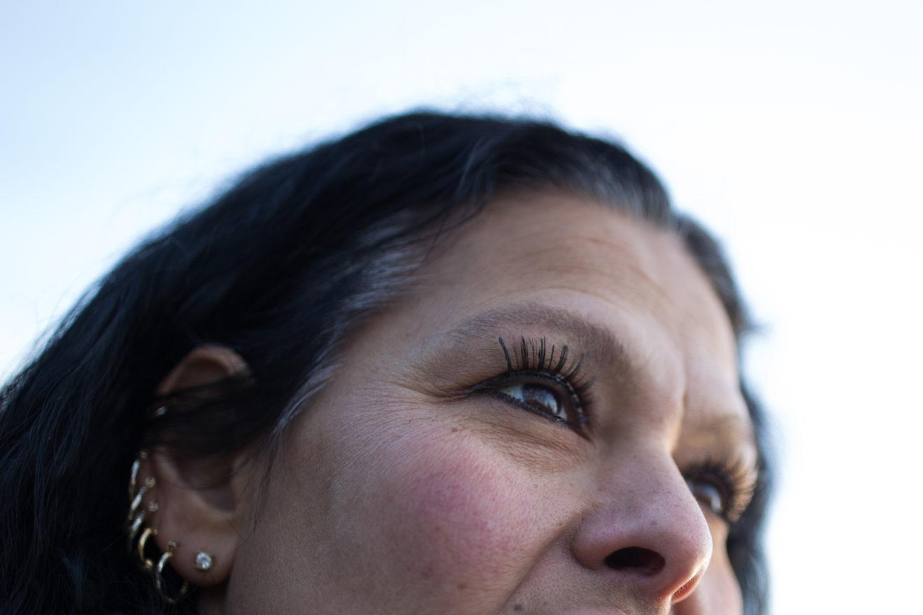 Portrait of Kim Dadou in Seneca Park, Rochester, NY.