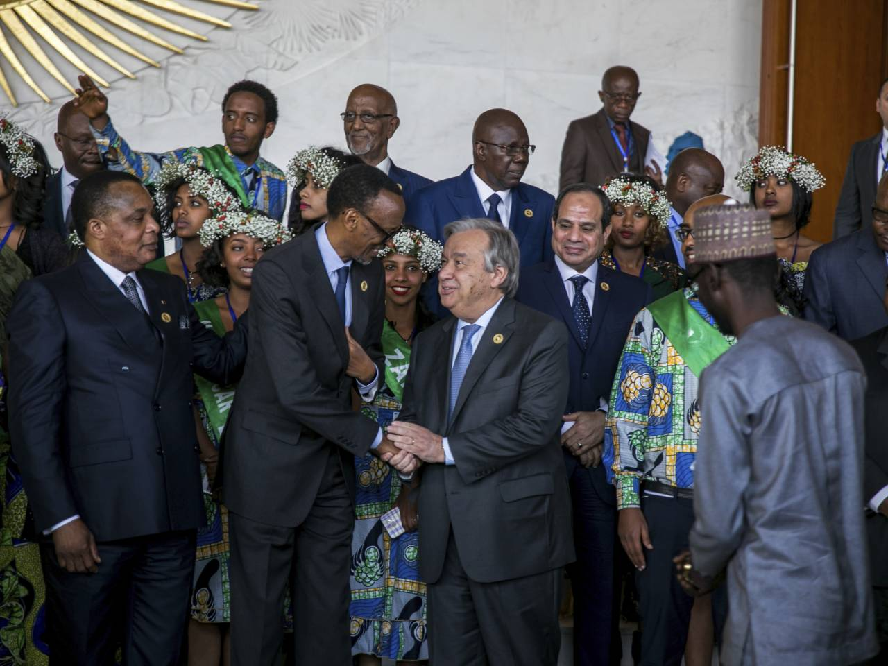 Uhuru in Ethiopia for Amina's African chair post vote