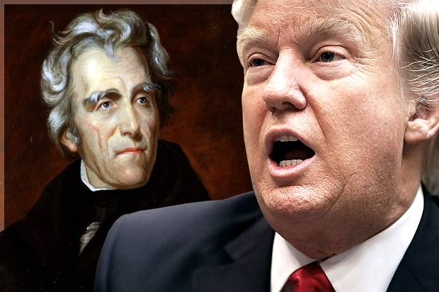Andrew Jackson; Donald Trump