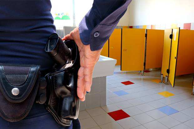 Here come the bathroom police  Alabama is going after Target by tapping attendants to monitor. Here come the bathroom police  Alabama is going after Target by