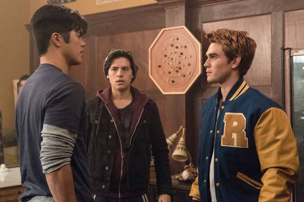 Archie goes dark the cw s riverdale serves up a classic for A peter james salon