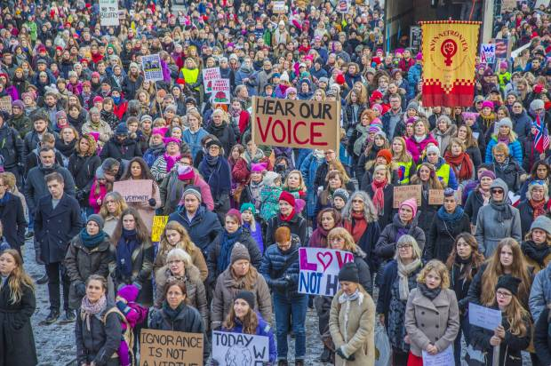 Sweden Trump Women's March