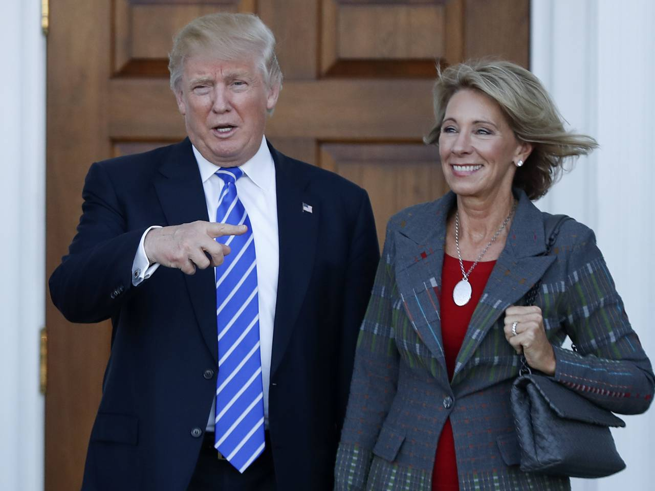b devos first day on the job they don t give teachers b devos first day on the job they don t give teachers pencils