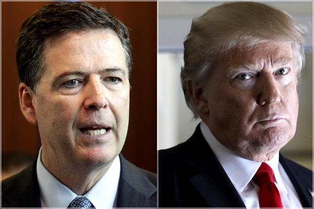 Image result for donald trump firing comey