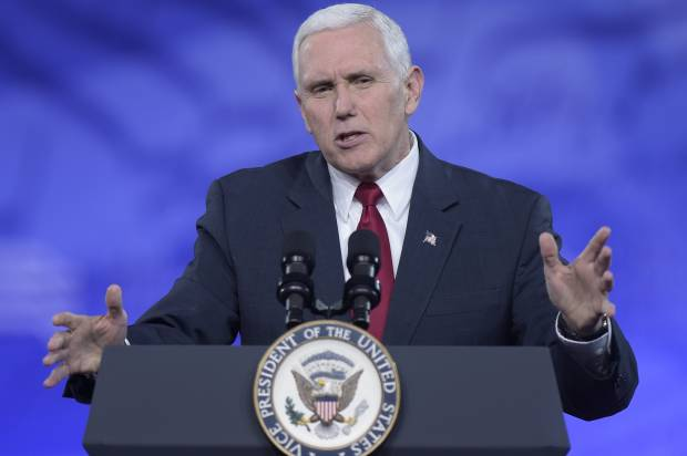 """Republicans """"whisper"""" about rumored Mike Pence/Nikki Haley presidential run"""