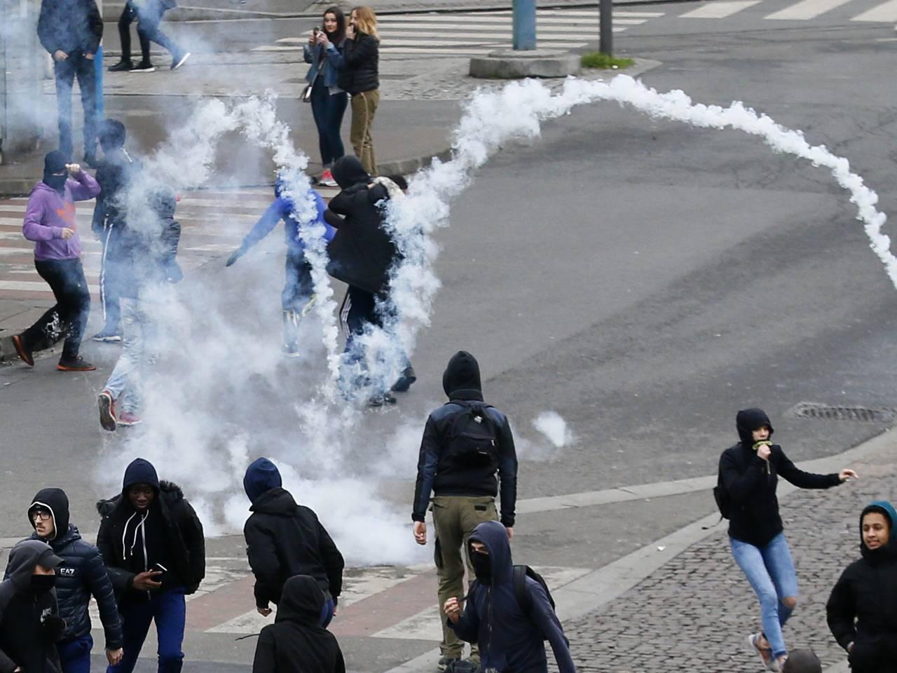 Fresh protests erupt in France over alleged police brutality leading to arrests