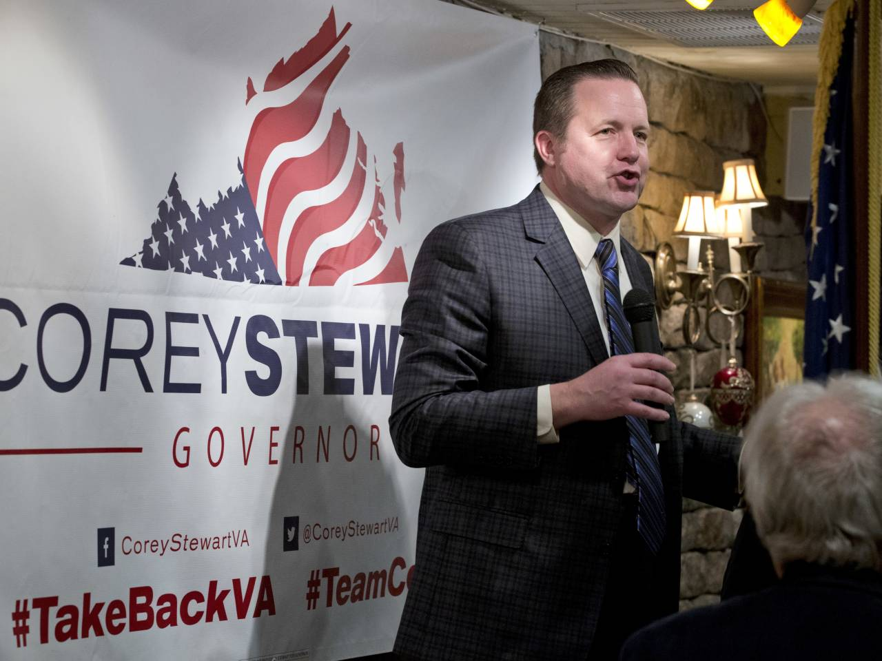 Trump Ultra Corey Stewart Throws a Scare Into Conventional Republicans Everywhere