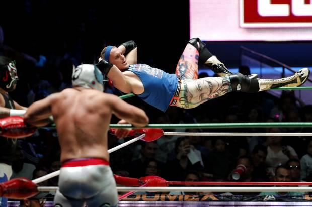 Mexico Pro Trump Wrestler