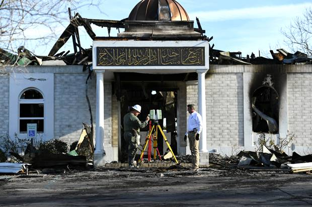 Mosuq burned in Victoria, Texas
