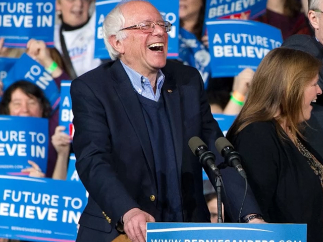 Bernie Sanders has become the most popular politician in America — with no help from the inside