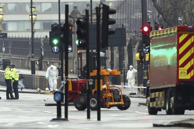 Britain Parliament Incident