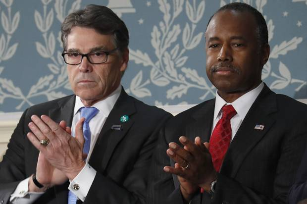 Ben Carson, Rick Perry confirmed to Cabinet posts