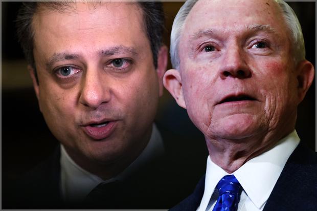 Behind the prosecutor purge: Jeff Sessions, Preet Bharara ...