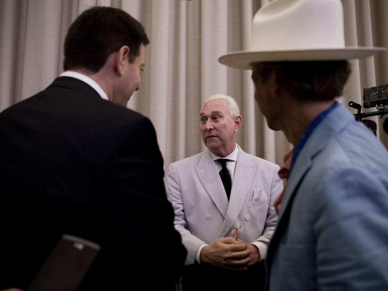 Roger Stone responds to Comey hearing, denies claims of Russian Federation collusion