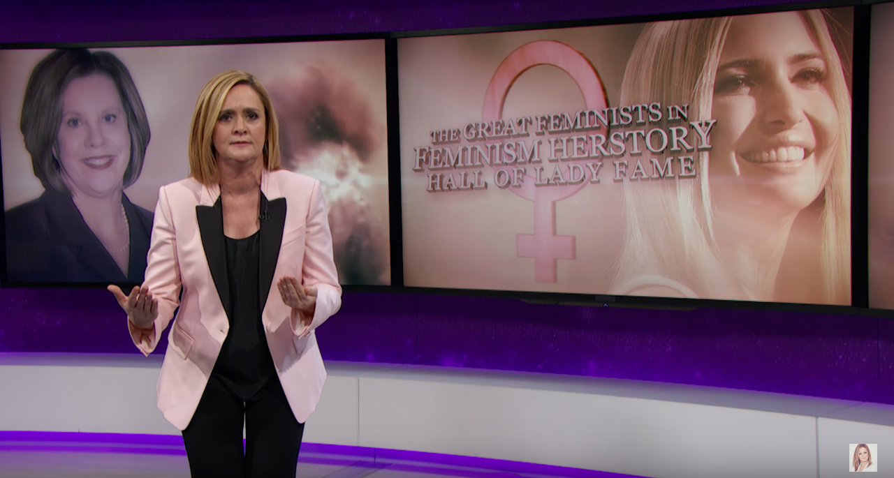 'Full Frontal': Samantha Bee Does Not Trust Ivanka Trump