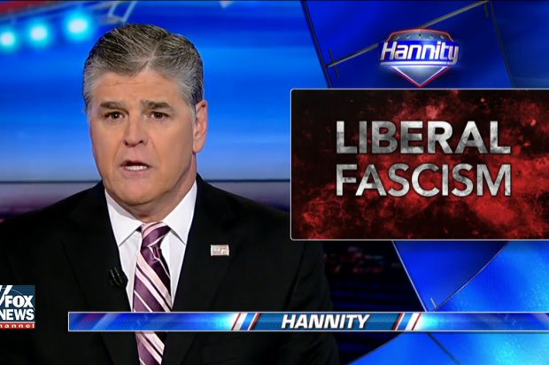 """Sean Hannity is now attacking """"anti-Trump"""" Fox News host Shepard Smith"""