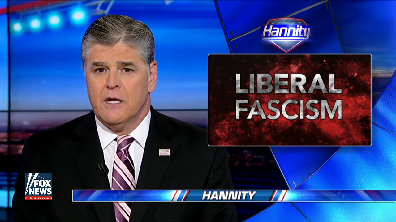 "Sean Hannity is now attacking ""anti-Trump"" Fox News host ..."